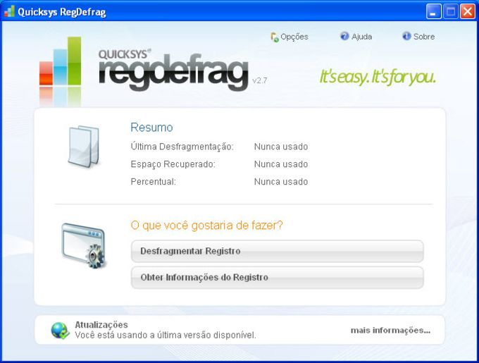 Quicksys RegDefrag Portable