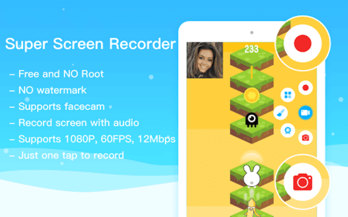 Super Screen RecorderNo Root REC  Screenshot