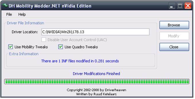 DH nVidia Mobility Modder