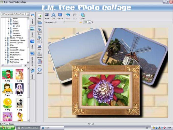 E.M. Free Photo Collage