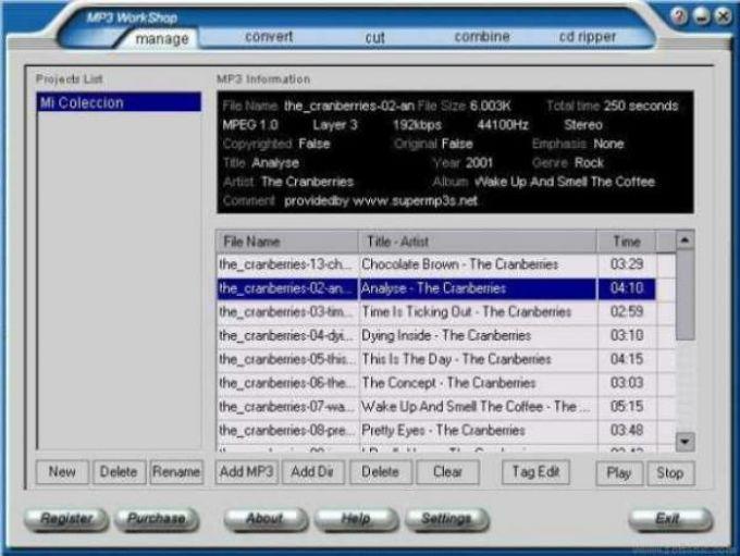 Econg MP3 Workshop