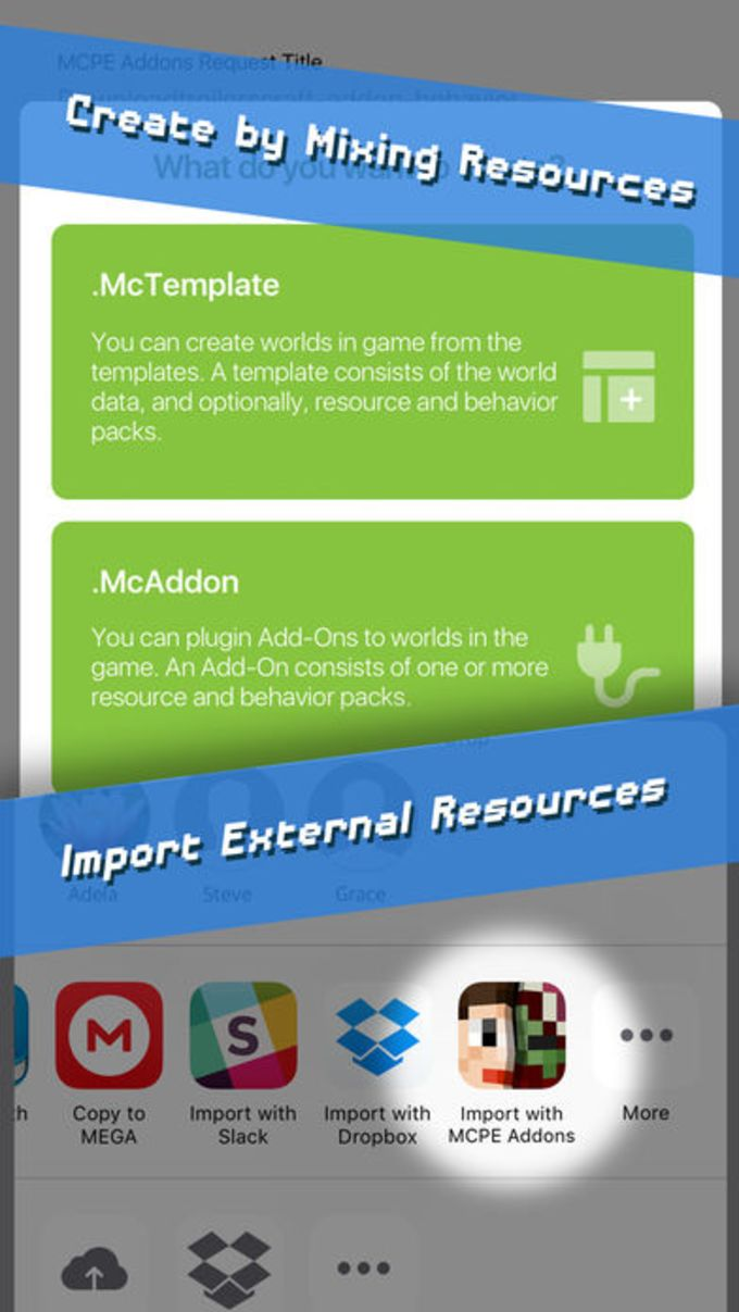 MCPE Addons - Add-Ons for Minecraft PE