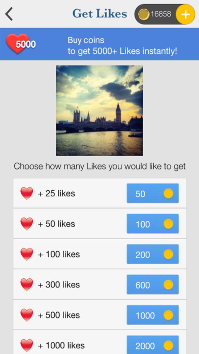 Get Likes Pro -Magic Liker for Instagram App Free