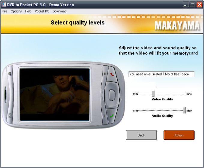 DVD to Pocket PC