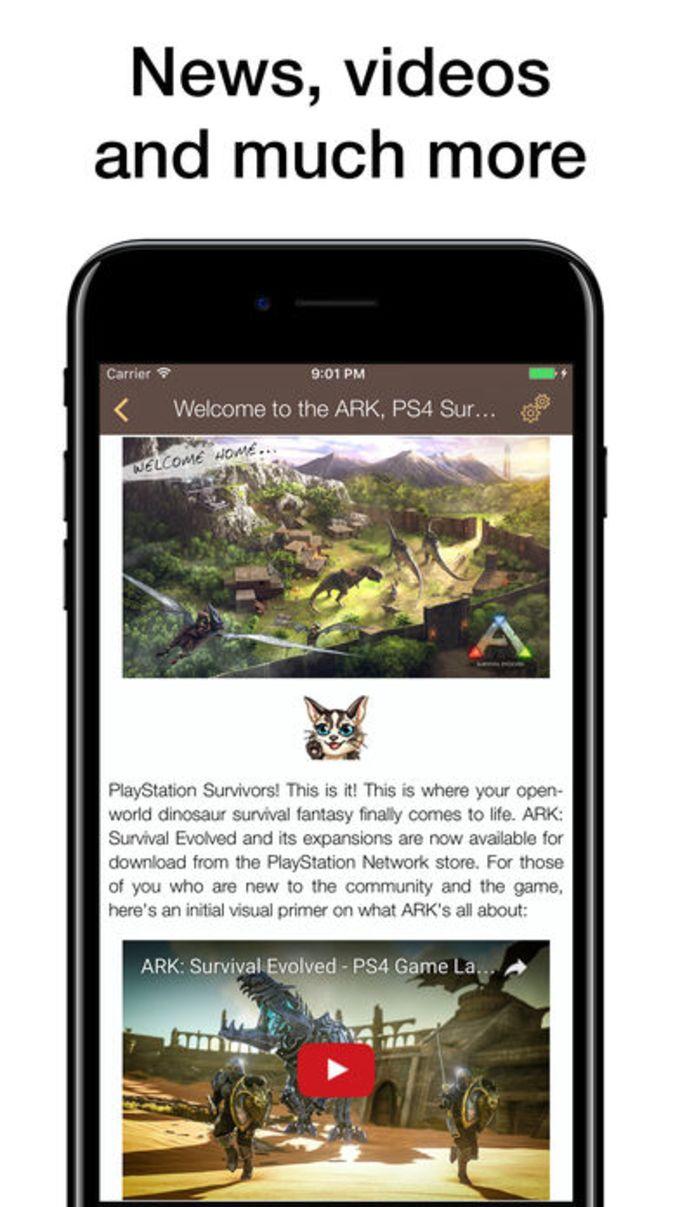 Pocket Wiki For ARK: Survival Evolved
