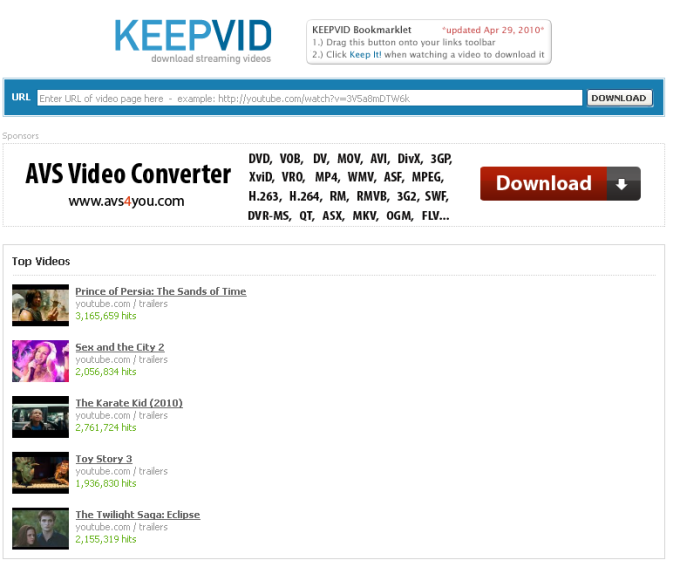 Keepvid online baixe vdeos do youtube em diversos formatos e definies keepvid ccuart Image collections