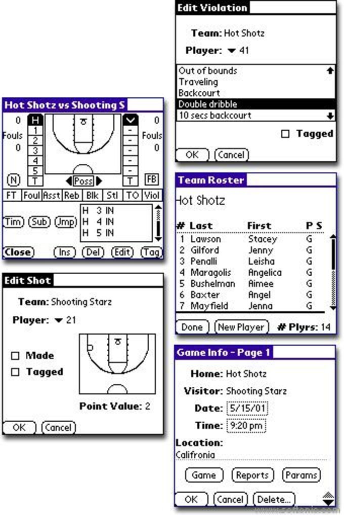 PocketStats for Basketball Std