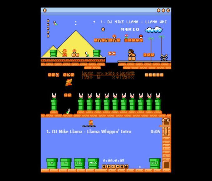 Winamp Skin: Super Mario Land