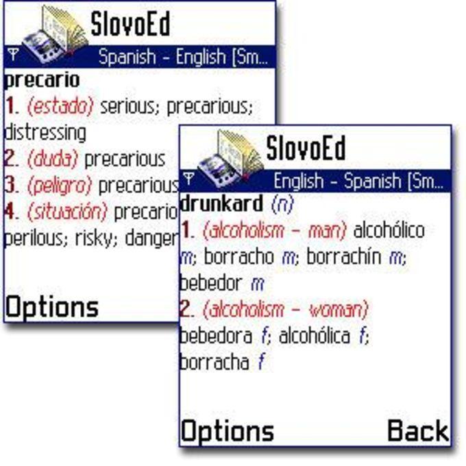 SlovoEd 7650: English-Spanish