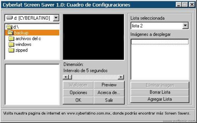 CyberLat ScreenSaver