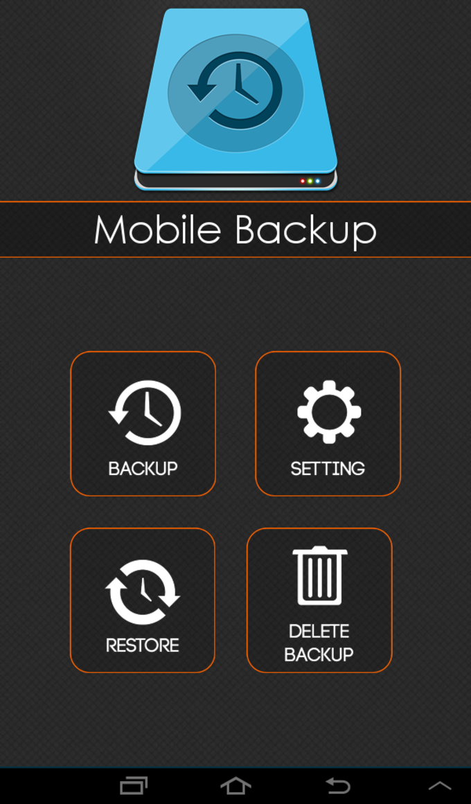 Mobile Backup SMS and Contact