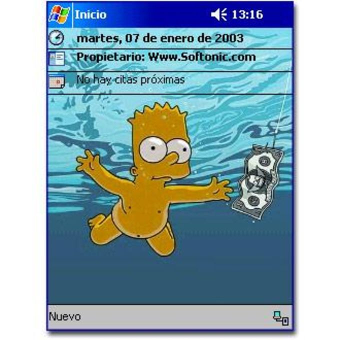 Bart in Water