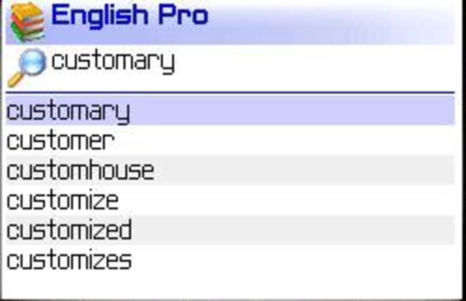 MSDict English Pro Dictionary