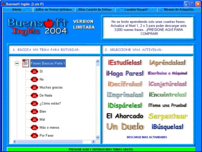 BuenSoft Ingles
