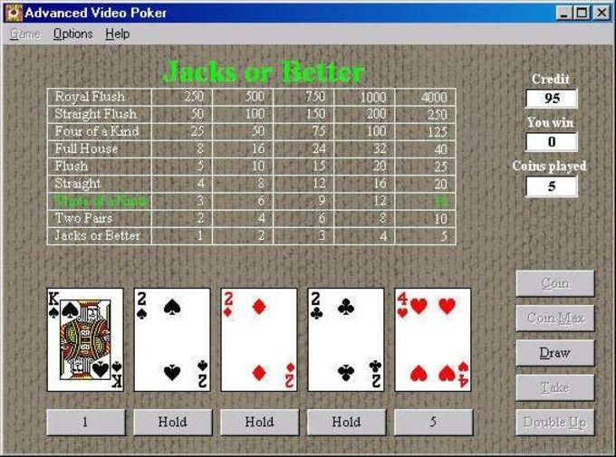 Advanced Video Poker