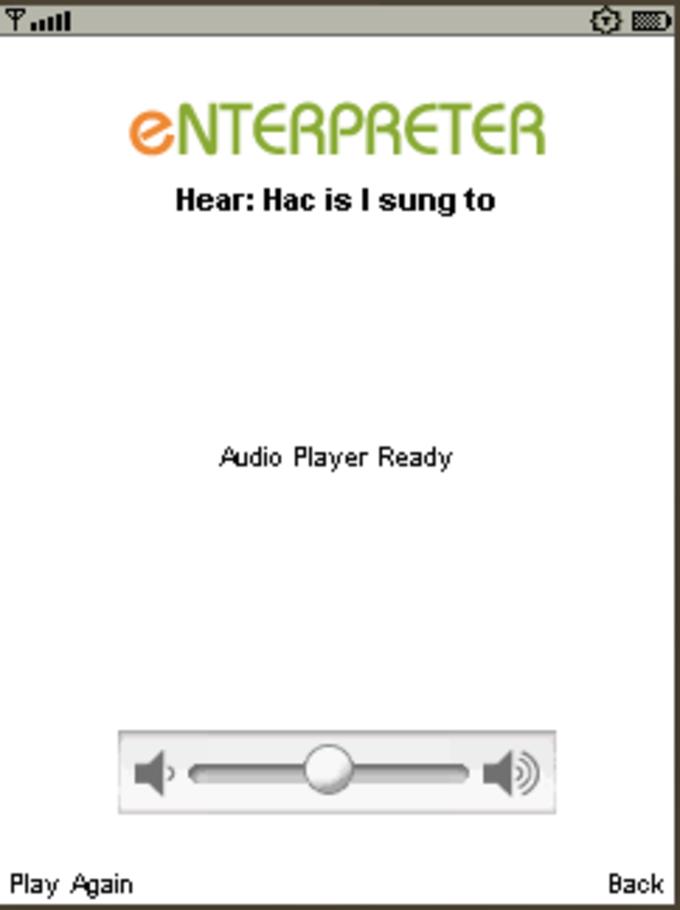 Enterpreter: English to/from Spanish Talking Translator, Dictionary, Thesaurus