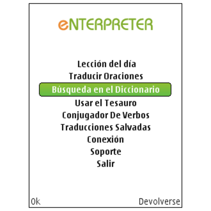 Enterpreter: English-Spanish Talking Translator, Dictionary, Thesaurus