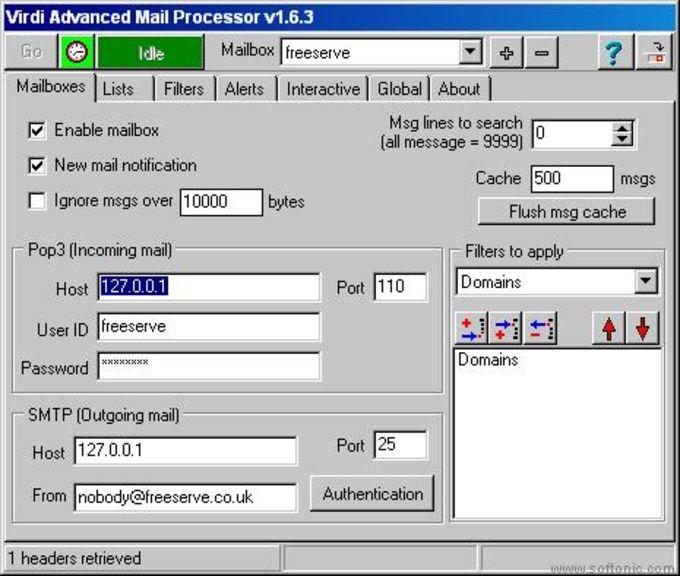 Virdi Advanced Mail Processor (VAMP)