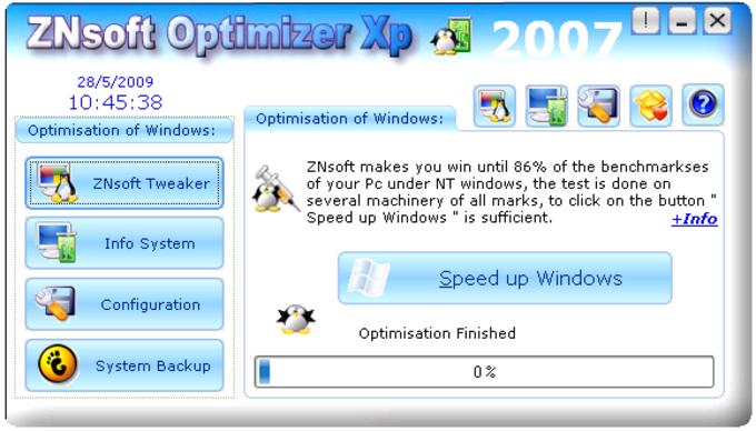 ZNsoft Optimizer Xp