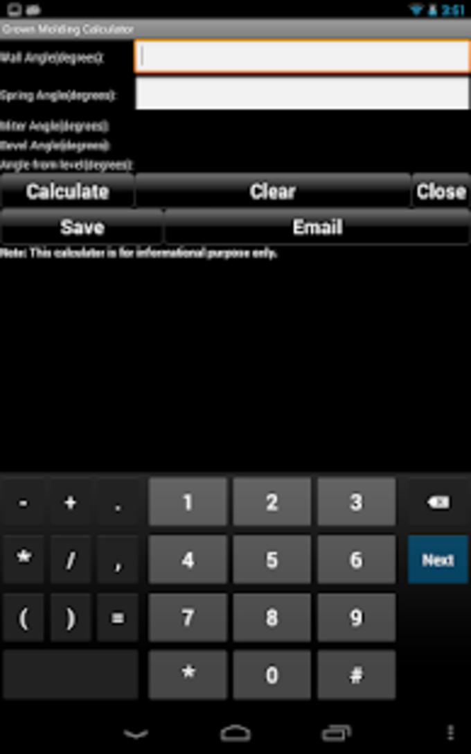 Handyman Calculator Pro Key