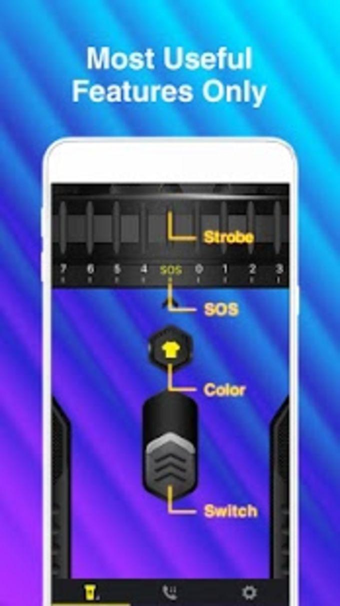 Multicolor Flashlight  Color Flash Light