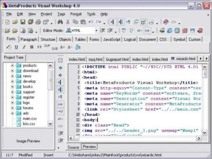 MetaProducts Web Studio
