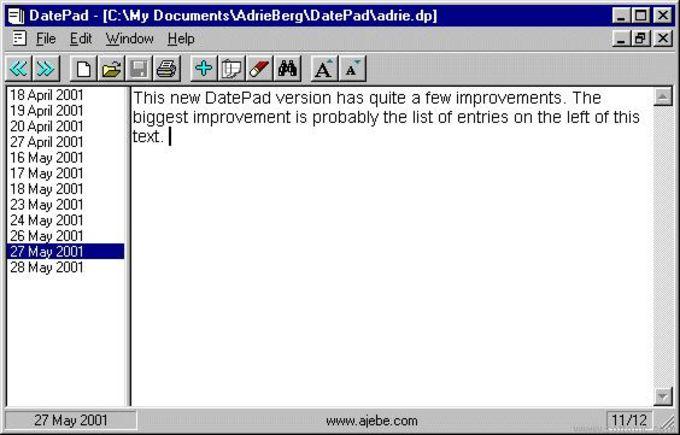DatePad