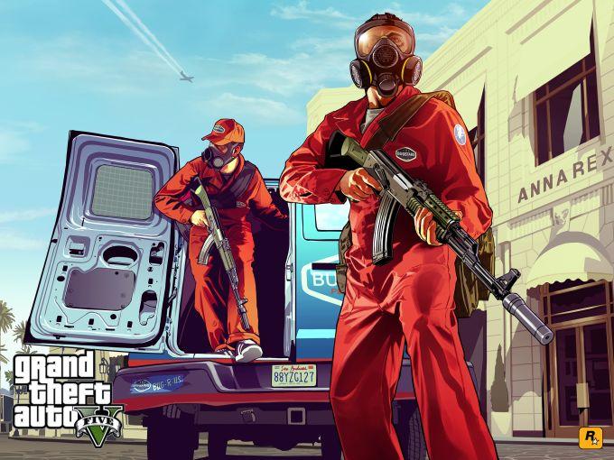 Papel de parede GTA 5