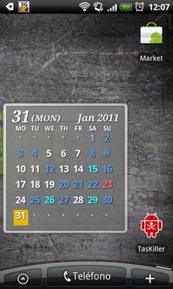 S2 Calendar Widget 2