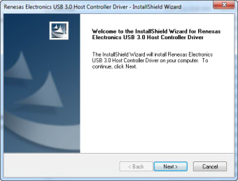 Pilote USB 3.0 Renesas Electronics