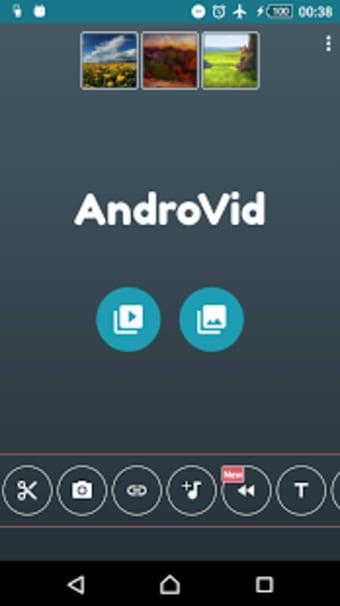 AndroVid - Video Editor Video Maker Photo Editor