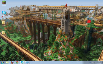 Minecraft Windows Theme