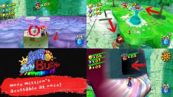 Super Mario Sunshine: Super Mario Sunburn Mod