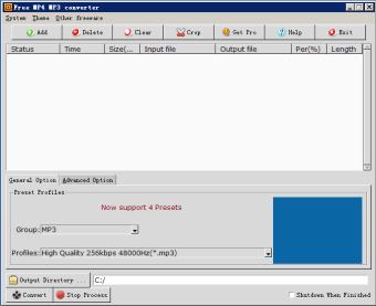 Free MP4 MP3 Converter