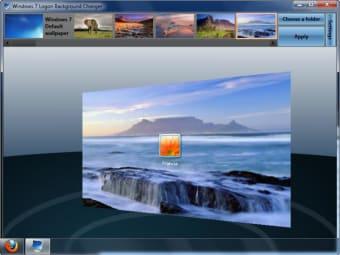 Windows 7 Logon Background Changer