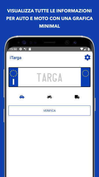 iTarga Pro - Verify Italian license plate