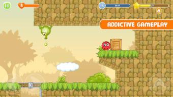 Red Bouce Ball 5: Jump Ball Adventure