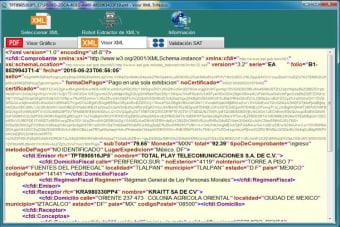 Visor XML Trifásico