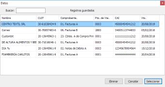 Código de Barras AFIP RG 1702
