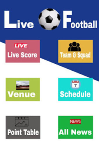 Live Football App : Live Streaming  Live Score