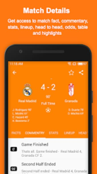 Soccer Live Scores  Updates