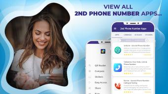 2nd Phone Number Apps Virtual eSIM 2nd Line