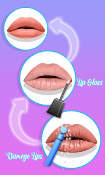 Lips Done Satisfying 3D Lip Art ASMR Game