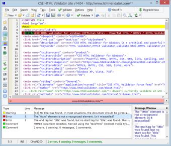 CSE HTML Validator Lite