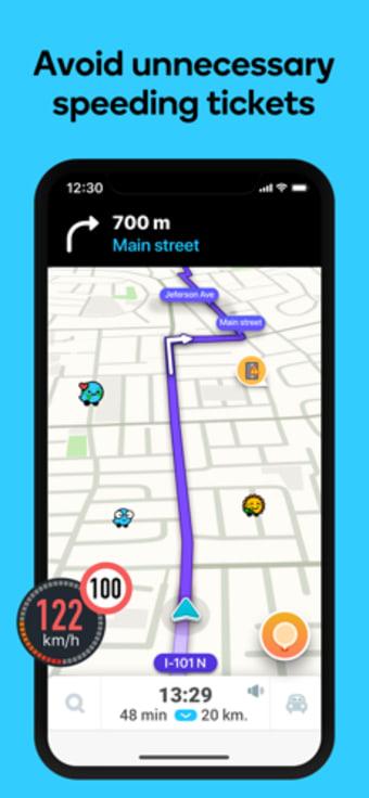Waze Navigation  Live Traffic