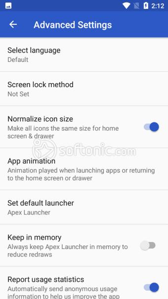 Apex Launcher - CustomizeSecureand Efficient