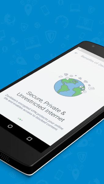 ZenMate VPN - WiFi VPN Security  Unblock