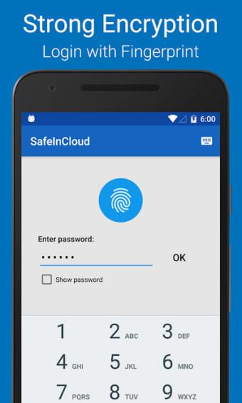 Password Manager SafeInCloud