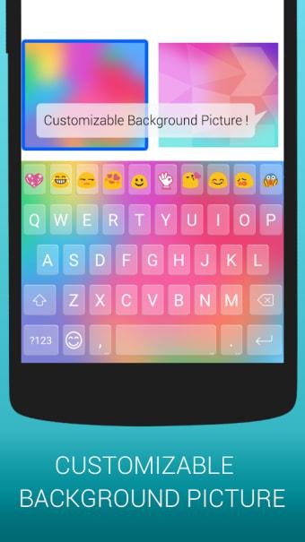Emoji Keyboard Cute Emoticons - Theme GIF Emoji