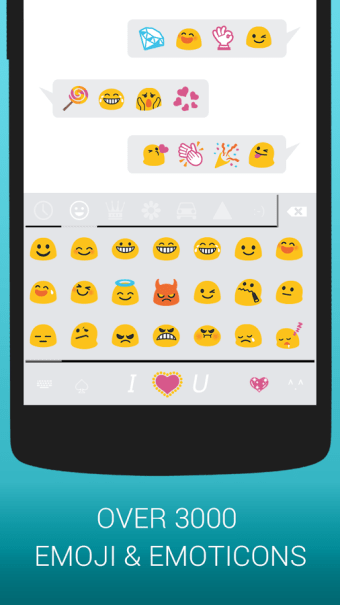Emoji Keyboard Cute Emoticons - Theme GIF Emoji